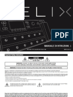 Helix 2.0 Owners Manual - Rev d - Italian