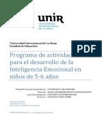 Programa de desarrollo emocional