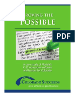 Colorado Succeeds Proving the Possible
