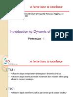 Slide TSP302 DinamikaStr PengRekGempa TSP 302 P1