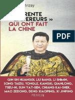 Les Trente Empereurs Qui Ont Fait La Chine -Brizay Bernard