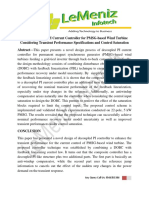 A Novel Design of PI Current Controller for PMSG-based Wind Turbine Considering Transient Performance Specifications and Control Saturation
