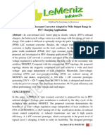 A PWM LLC Type Resonant Converter Adapted to Wide Output Range in PEV Charging Applications