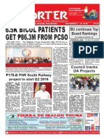 Bikol Reporter November 4 - 10, 2018 Issue