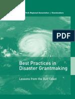 Best Practices in Disaster Grantmaking.PDF