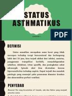 Ppt Status Asthmatikus