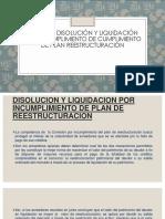 Disolucion y Liquidacion Por Incumplimiento.