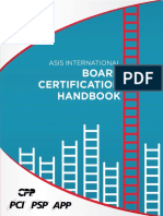 ASIS Certification Handbook