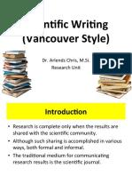 Materi Dr. Arlends - Scientific Writing (Daftar Pustaka)