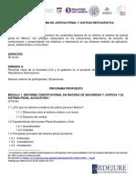 IRI RENACE Propuesta de Programa de Taller de Capacitación Final Del 150_ Junio Del 2018