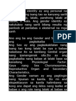 Ano Ang Ba Ang Gender and Sex at Ano Ang Pagkakaiba Nito