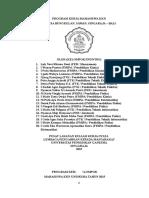 Program Kerja KKN Desa Bungkulan Revisi Satu