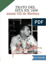 Retrato del artista en 1956 - Jaime Gil de Biedma.epub