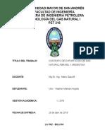 Contratos a Brasil y Argentina