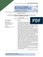 A STUDY THE CONTRIBUTION OF MICRO FINANCE ON POVERTY ALLEVIATION IN BATTICALOA DISTRICT OF SRI LANKA.