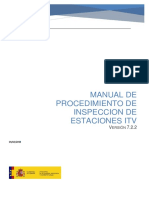 Manual de Procedimiento de Inspeccion de Estaciones ITV v722 Feb 2018