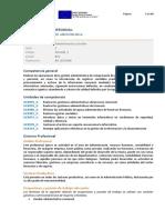 Actividades de Gestión Administrativa Certificado de Profesionalidad