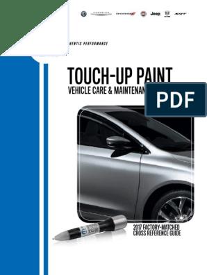 NEW Fiat 500 PEARL WHITE TRI-COAT Touch Up Paint Paint OEM Mopar PWH