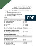 Contoh Soal Akuntansi Perbankan-Kredit Modal Kerja
