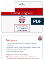 The Accounting System of United Kingdom - Presentation