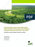 Financial Governance and Indonesia's Reforestation Fund During t