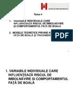 4-Variabile Si Modele Teoretice Ale Comportamentului