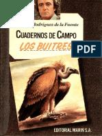 Cuadernos de Campo 10 F R de La Fuente Los Buitres Marin 1978