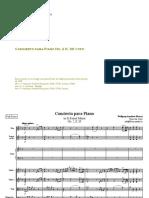 Score of Mozart