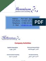 Millennium Presentation Ideal