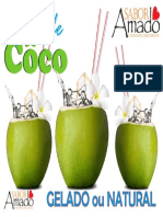 Placa Côco a3