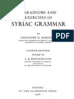 Robinson Syriac Grammar