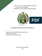 Elaboracion de Queso Final PDF