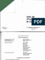 1985 Pascual Moreno Dos Espacios Para El Analisis de La Pesca en Canarias. II Congreso de Antropología Madrid