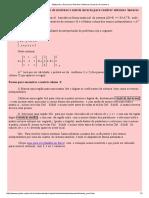 Excel para sistemas lineares de ordem N