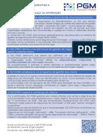 PGM - Razoes Implementar ISO 27001