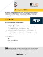 Module 3_MOOC Template for Creating a Training Course Outline