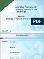SESION 1 Brechas e Inversión Pública
