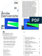 BENVENISTE, Emile - Problemas de Linguistica General 1