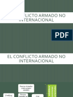 Cap.3-El Conflicto Armado No Internacional