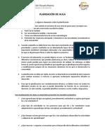 PlaneacionDeAula Escuela Nueva