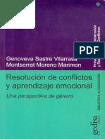 Resolución de conflictos y aprendizaje emocional