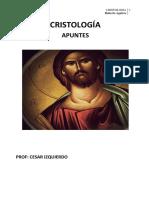 CRISTOLOGÍA (apuntes)
