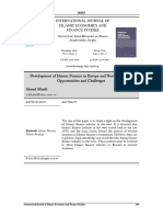 Development of Islamic Finance in Europe and North America- Opportunities and Challenges[#313826]-303959