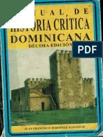 Manual de Historia Crítica Dominicana