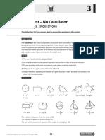 Math Sat Practice Test 3