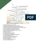 Crucigrama Fatores Abioticos 8º