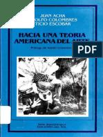 Acha, Juan.hacia Una Teoria Americana Del Arte PDF