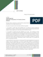 Carta Notarial - Teresa Rengifo