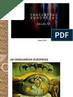 Vanguardas Europeias Literatura Funec 2018