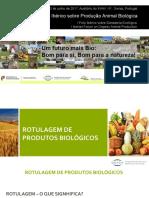Rotulagem de produtos bio